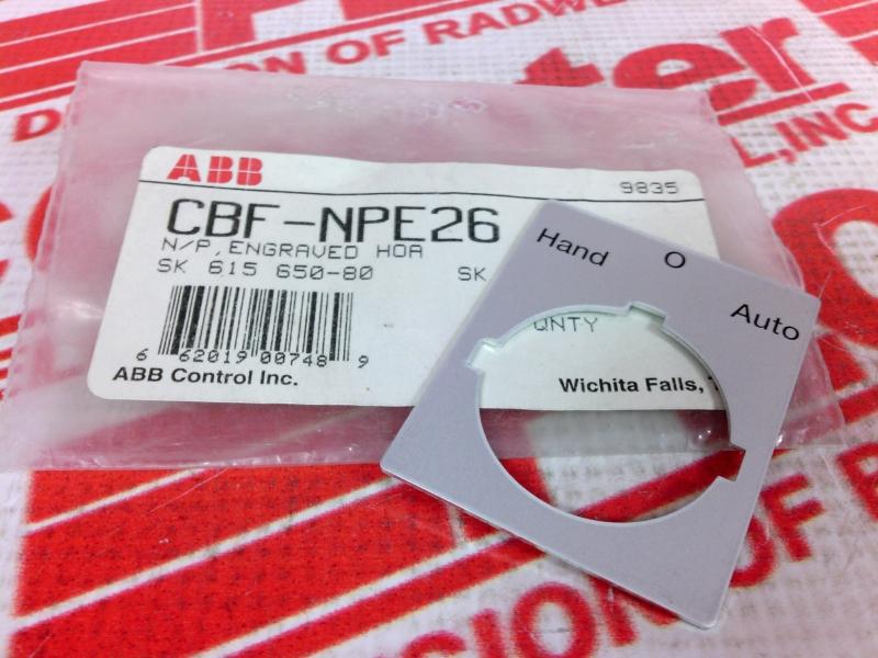 ABB CBF-NPE26