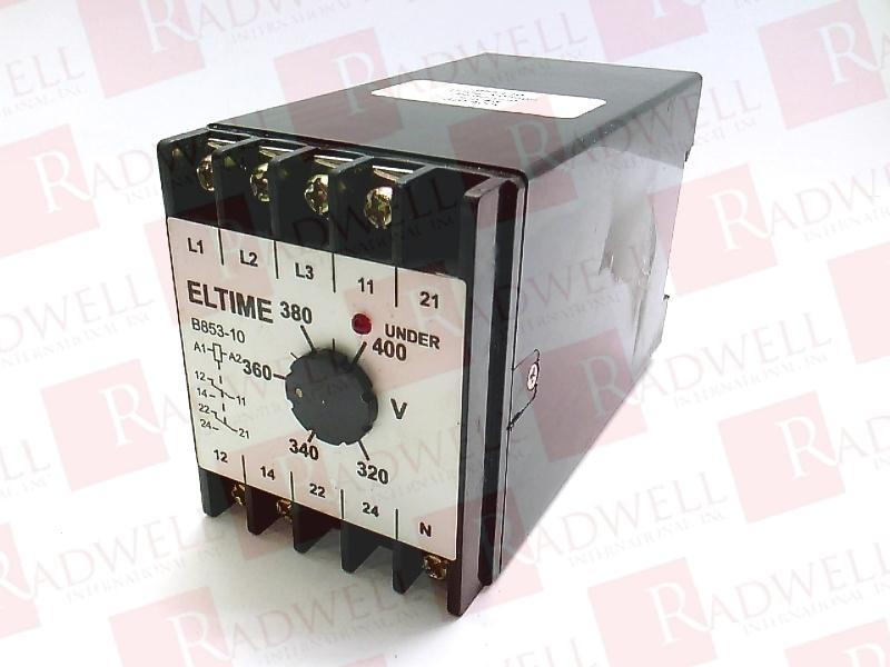 ELTIME CONTROLS B853-10