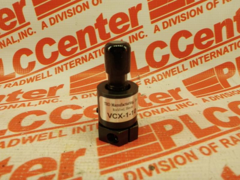 TRD MANUFACTURING INC VCX-1-10