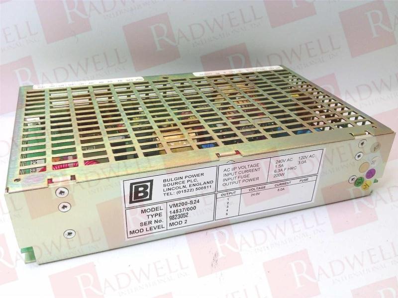 BULGIN POWER VM200-S24