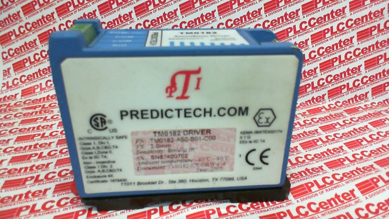 PREDICTECH TM0182-A50-B01-C00