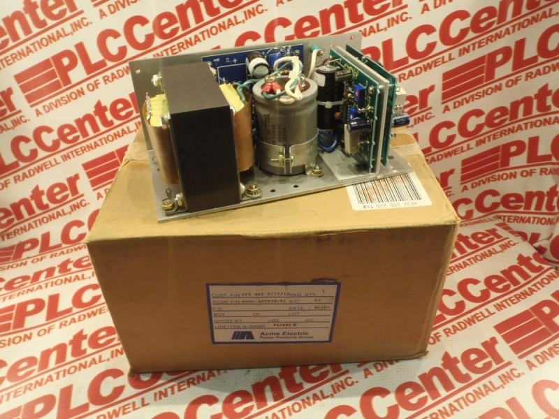 ACME ELECTRIC SPS-80T-5/12/15