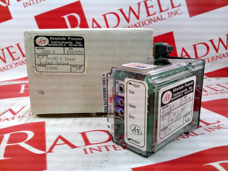 ABSOLUTE PROCESS INSTRUMENTS API-4100-G