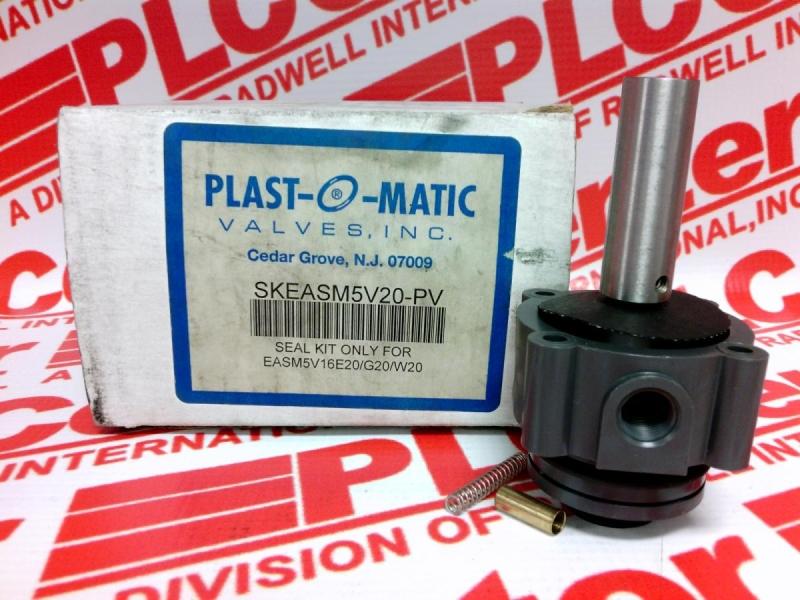 PLASTOMATIC VALVES SKEASM5V20-PV