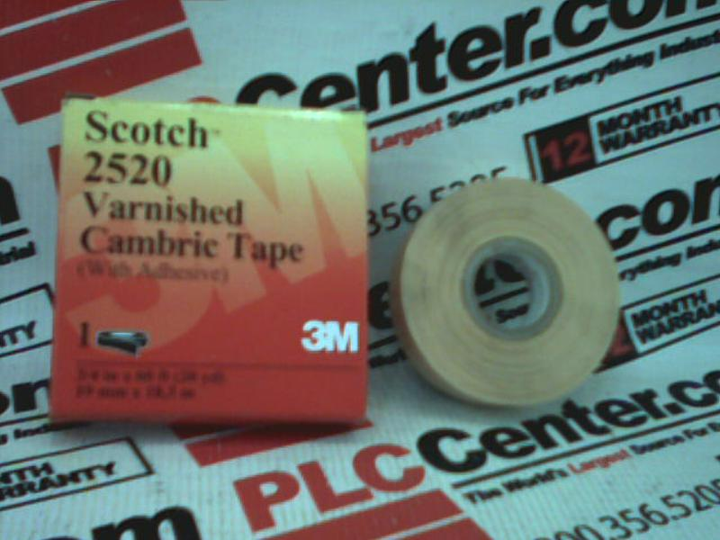 3M TAPE DIVISION 2520-3/4X60FT