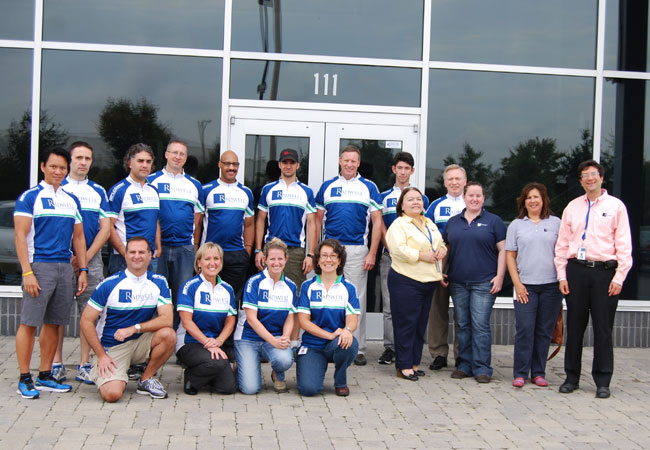Radwell formed a team for the MS City to Shore Bike Ride. They did great and already getting ready for 2013.