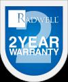 Radwell's 2 Year Warranty Logo