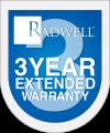 Radwell's 3 Year Warranty Logo