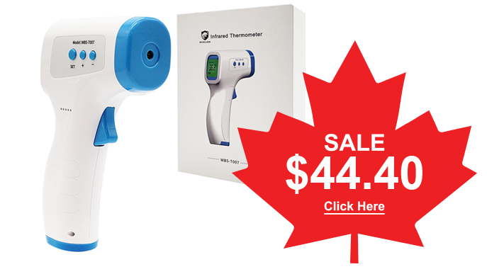 Non-Contact Thermometers In-Stock Get yours today