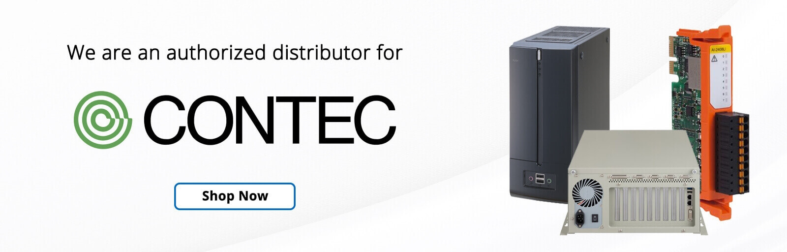 Radwell is an authorized distributor for Contec