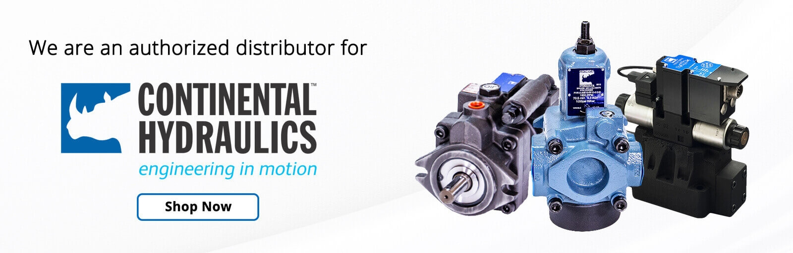 Radwell is a direct distributor for Continental Hydraulics