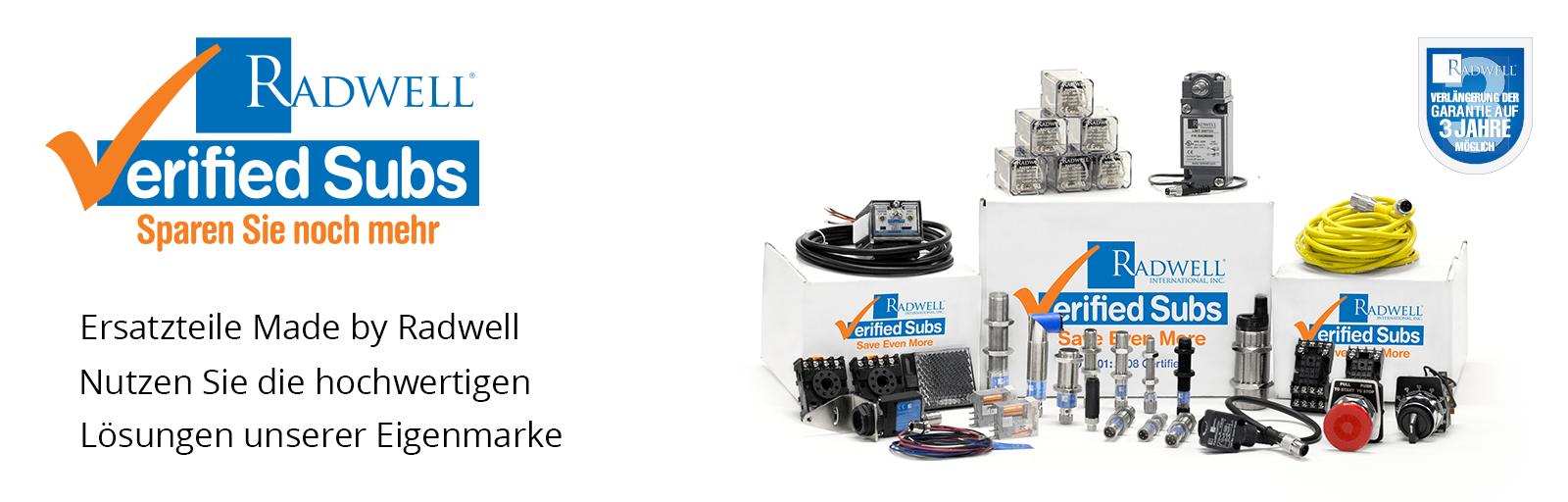 Geprüfter Ersatz von Radwell Manufactured Automation-Teilen und -Komponenten