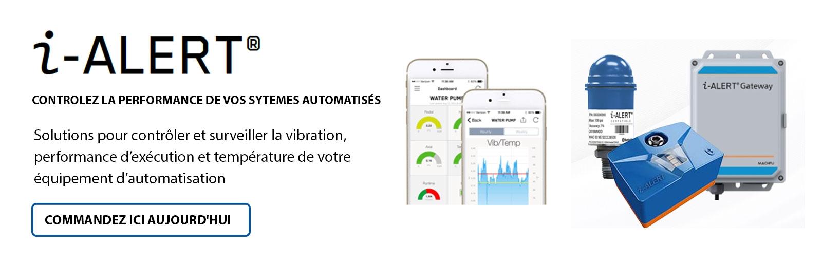 i-Alert Controlez La Performance De Vos Sytemes Automatises