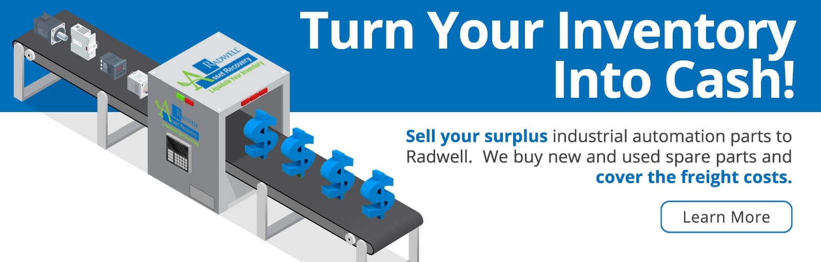 Turn Your Inventory Into Cash!