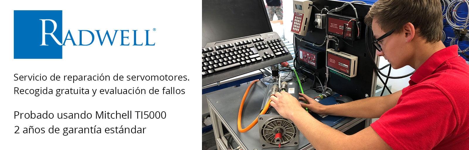 Radwell - Servicio de Reparación de Servo-Motortes