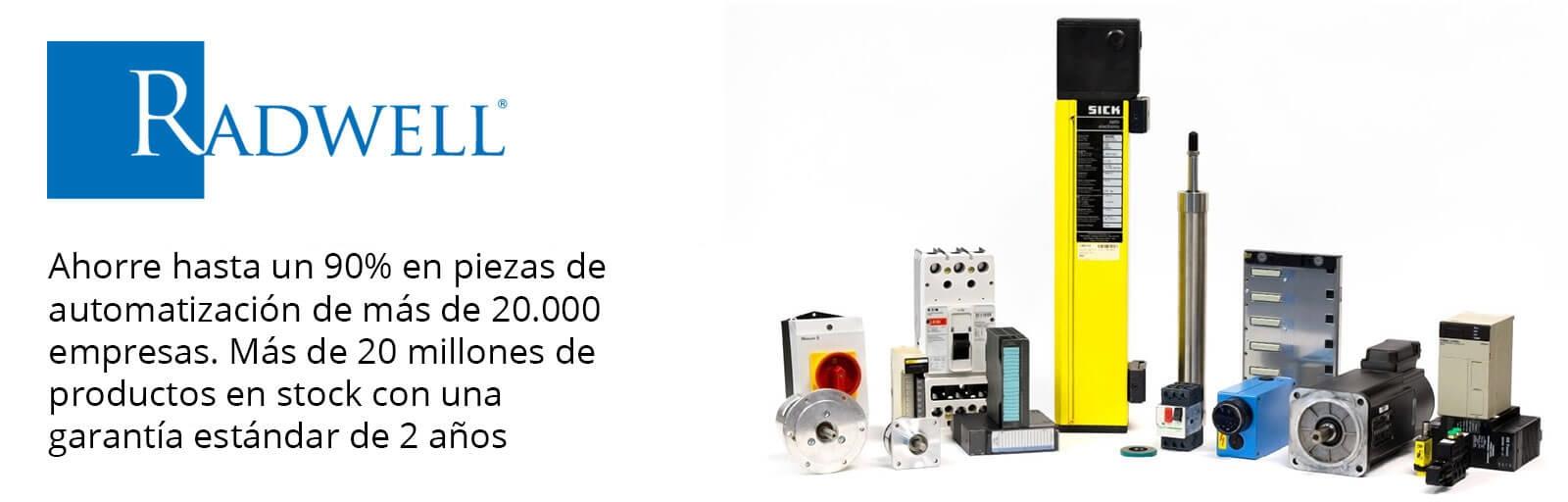 Radwell - Ahorra hasta un 90% en productos de Automación