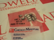 CHICAGO MINIATURE 345-10PK