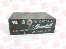 GRAYHILL INC 70-OAC5A-L