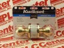 KWIKSET CORPORATION 300T-3-CP