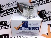 RADWELL VERIFIED SUBSTITUTE 2011381(105)SUB