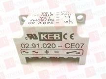 KEB AUTOMATION 02.91.020-CE07