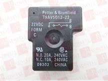 P&B T9AV5D12-22