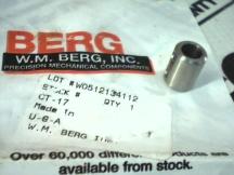 WINFRED M BERG CT-17