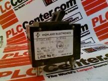HIGHLAND ELECTRONICS CO UPL-11-1-61-5020