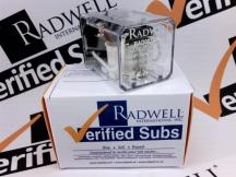 RADWELL VERIFIED SUBSTITUTE 105DPDT5A110VDCSUB