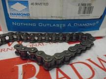 DIAMOND CHAIN 40-RIV-FT