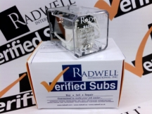 RADWELL VERIFIED SUBSTITUTE 1053PDT10A110VDCSUB