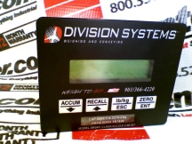 DIVISION SYSTEMS DBSM1