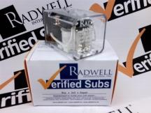 RADWELL VERIFIED SUBSTITUTE 105DPDT10A24VDCSUB