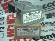 MAMAC SYSTEMS PR-272-6-7-B-1-1-P-2-10VDC