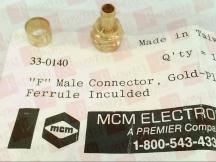 MCM ELECTRONICS 33-0140