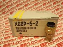 PARKER X68P-6-2