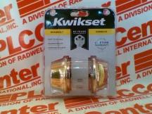 KWIKSET CORPORATION 660-3-CP-PB