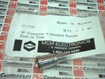 MCM ELECTRONICS 27-1295