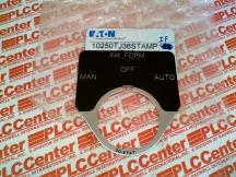 EATON CORPORATION 10250TJ36STAMP-IF