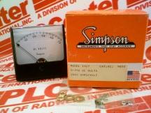 SIMPSON 9850-0-750-VDC