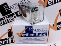 RADWELL VERIFIED SUBSTITUTE RR2P-U-AC120-SUB
