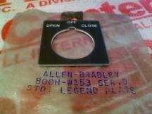 ALLEN BRADLEY 800H-W153
