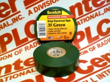 3M HOME & COMMERCIAL CARE 35-GREEN-3/4