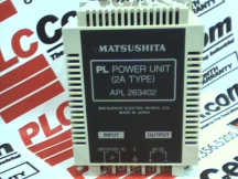 MATSUSHITA ELECTRIC APL-263402