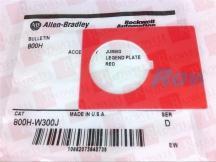 ALLEN BRADLEY 800H-W300J