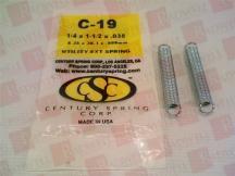 CENTURY SPRING C-19