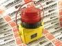 MCDERMOTT LIGHT & SIGNAL STR-888-EMP7722-7AH-LVC-BH-RED