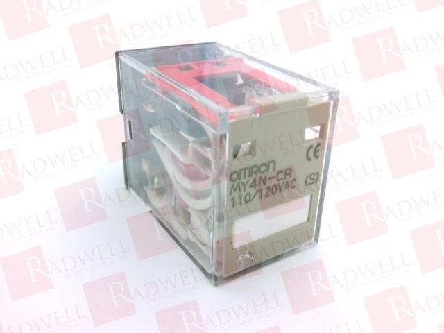 OMRON MY4N-CR AC110/120 (S)
