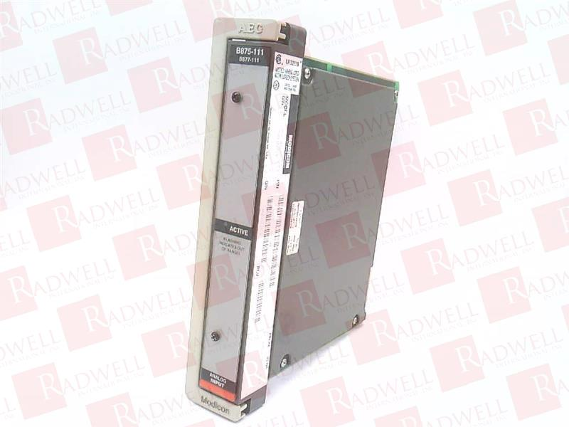 SCHNEIDER ELECTRIC AS-B875-111 0