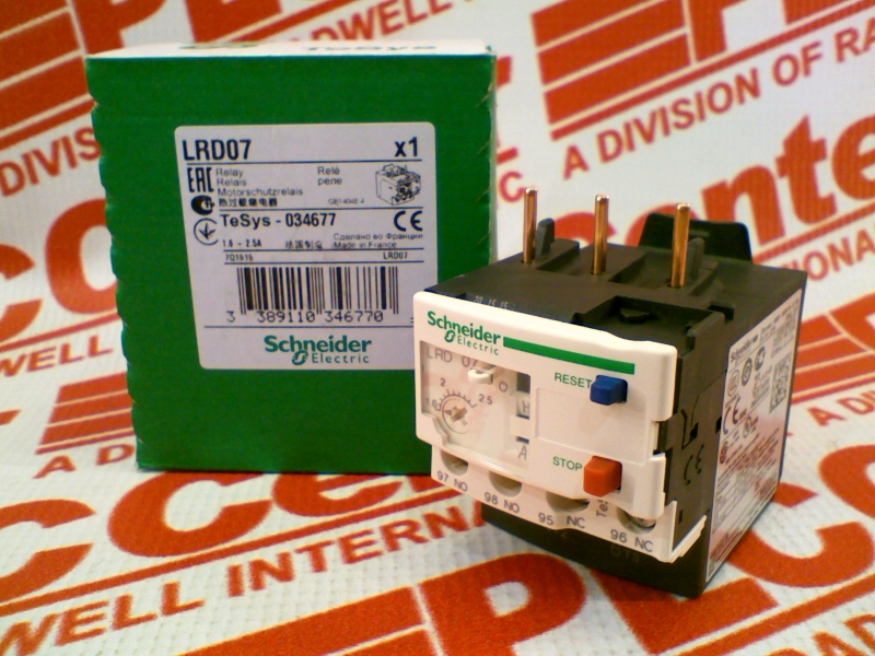SCHNEIDER ELECTRIC LRD-07